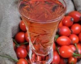 Корисне і смачне вино з шипшини фото