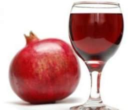 Корисне вино з граната фото
