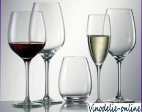 Посуд і подача вина фото