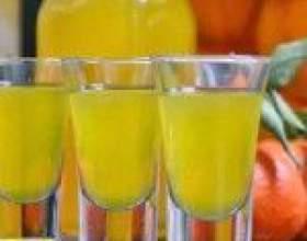 Святкова настоянка з мандаринів на горілці (спирті, самогоні) фото