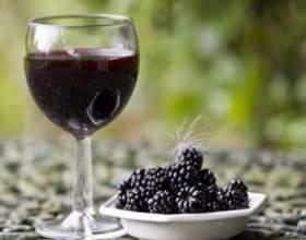 Прекрасне вино з ожини в домашніх умовах фото