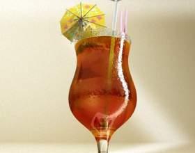 Прості коктейлі з лікером «малибу» фото