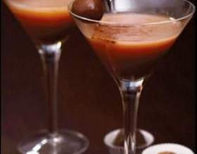 Прості рецепти шоколадних коктейлів фото