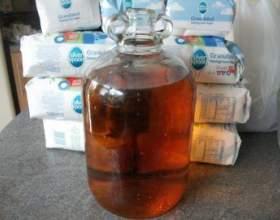 Рецепт браги для пиття з варення або цукру фото