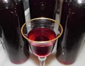 Рецепт домашнього журавлинного вина фото