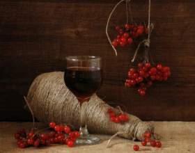 Рецепт домашнього вина з калини фото
