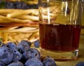 Рецепт домашнього вина з терну фото