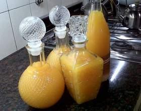 Рецепт лікеру з мандаринів в домашніх умовах фото