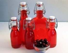 Рецепт настоянки на журавлині. Журавлинна настоянка на самогоні, горілці або спирті фото