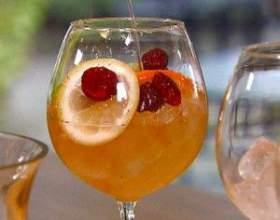 Рецепти алкогольного коктейлю сангарі фото