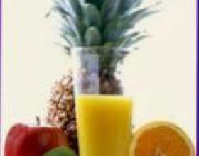 Рецепти фруктових коктейлів фото