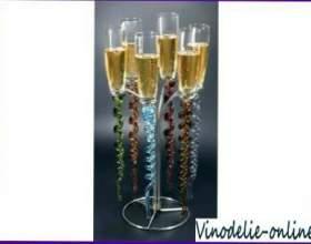 Шампанське з фруктів фото