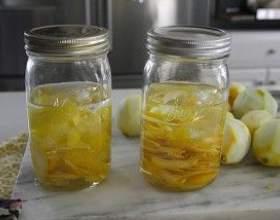 Солодкі лимонні наливки на горілці фото