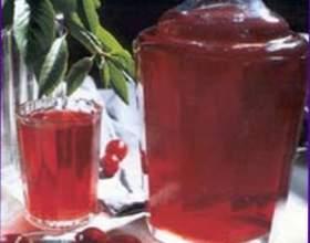 Солодке вишневе вино фото
