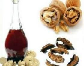 Спиртова горіхова настоянка: застосування і приготування на спирту і горілки фото