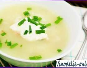 Суп з білого вина фото