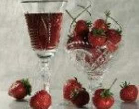 Технологія приготування домашнього полуничного вина фото