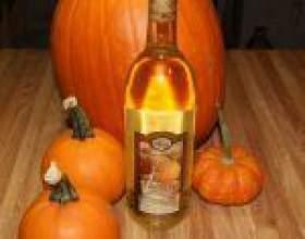 Технологія приготування вина з гарбуза фото