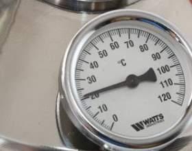 Температура при самогоноваріння, контроль за нею важливий фото