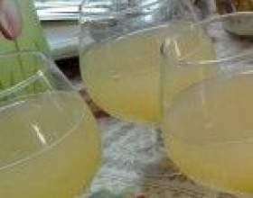 Винний напій з кабачків фото