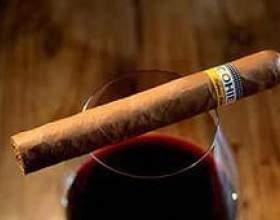 Вино і сигарети - поєднання фото