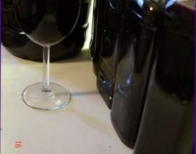 Вино з аронії фото