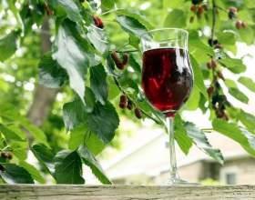 Вино з шовковиці - пора дивувати і дивуватися самому фото