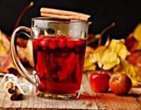 Вітамінні напої з червоної горобини фото