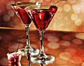 Смачні коктейлі на новий рік фото