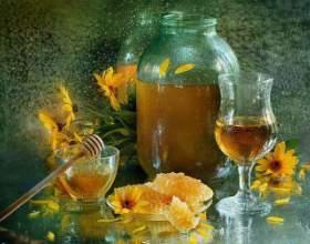 Горілка з медом від застуди фото