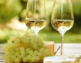 Шкода і користь білого вина фото