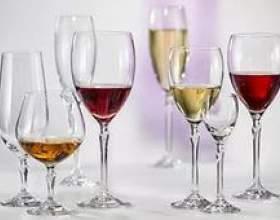 Вибір келихів для вина фото