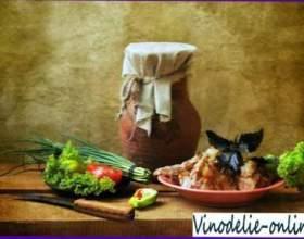 Печеня з кролика з білим вином фото