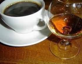 Кава з коньяком фото