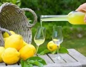 Лимонний лікер фото