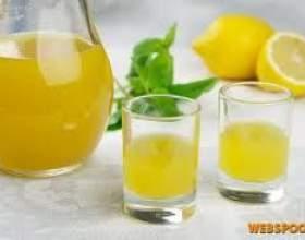 Настоянка з лимона фото