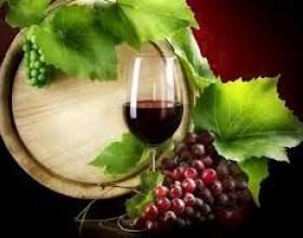 Напівсухе вино фото