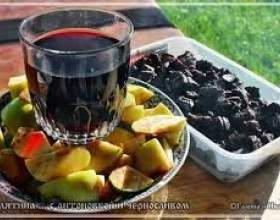 Вино з чорносливу фото