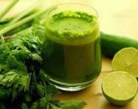 Зелені коктейлі рецепти фото